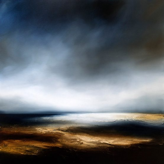 The Slumbering Sea Seascape and Landscape Painting
