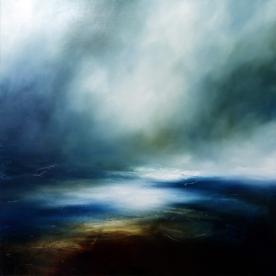 The Storm Never Rests Seascape and Landscape Painting