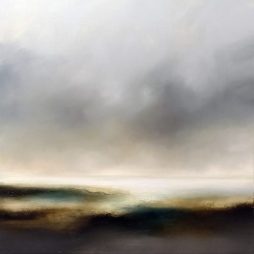 The Storm Settles Seascape and Landscape Painting