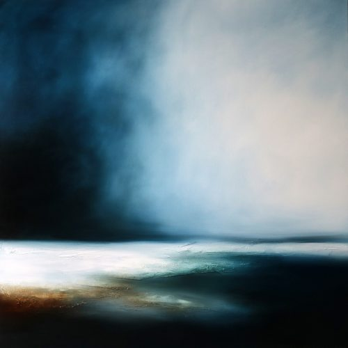 The Storms Serenade Seascape and Landscape Painting