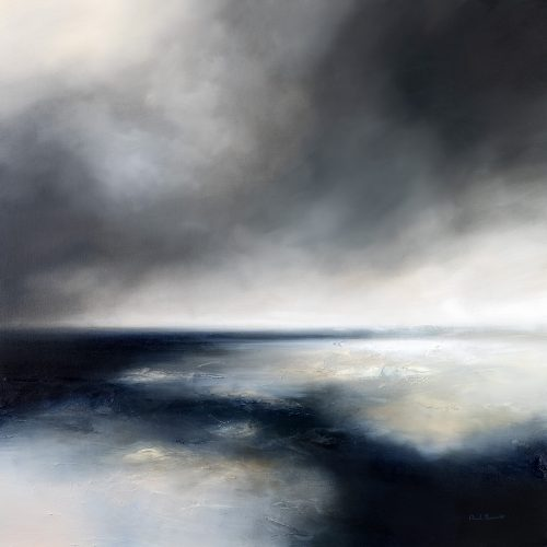 The Whispering Sea Seascape and Landscape Painting
