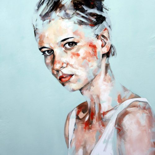 Today has Been Portrait Painting