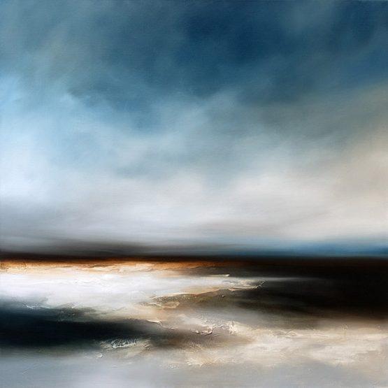 Towards the Fall Seascape and Landscape Painting