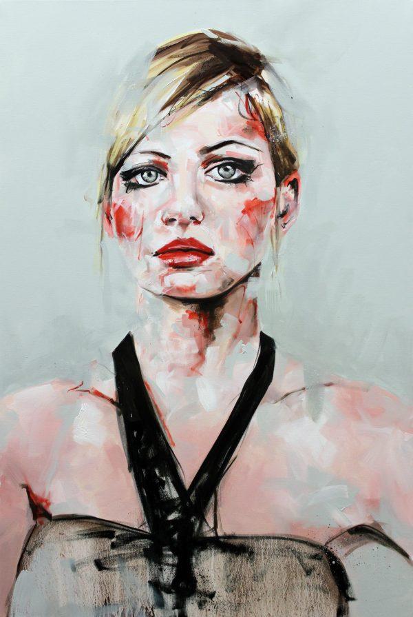 Unreflected Portrait Painting