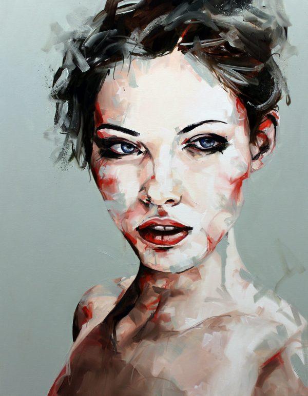Until Now Portrait Painting