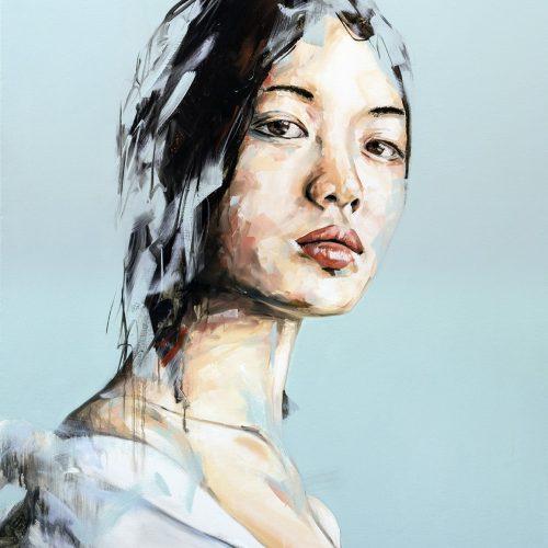 Until Tomorrow Portrait Painting