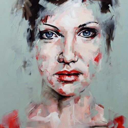 Where Ever You Are Portrait Painting