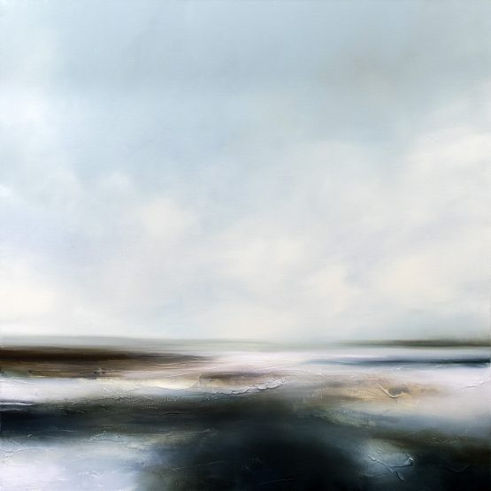 Winter Seas 1 Seascape and Landscape Painting