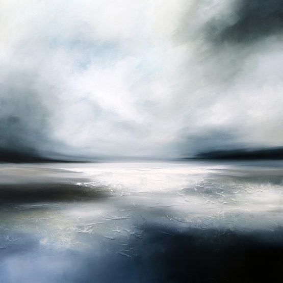 Winter Seas 2 Seascape and Landscape Painting