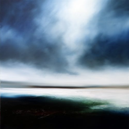 Winters Rest Seascape and Landscape Painting
