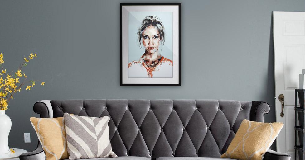 Portrait in Prints Situ 2