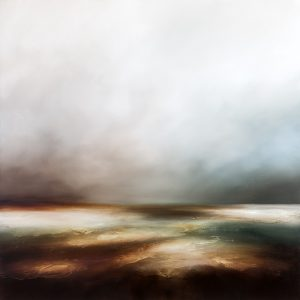 Solitary State Seascape Painting