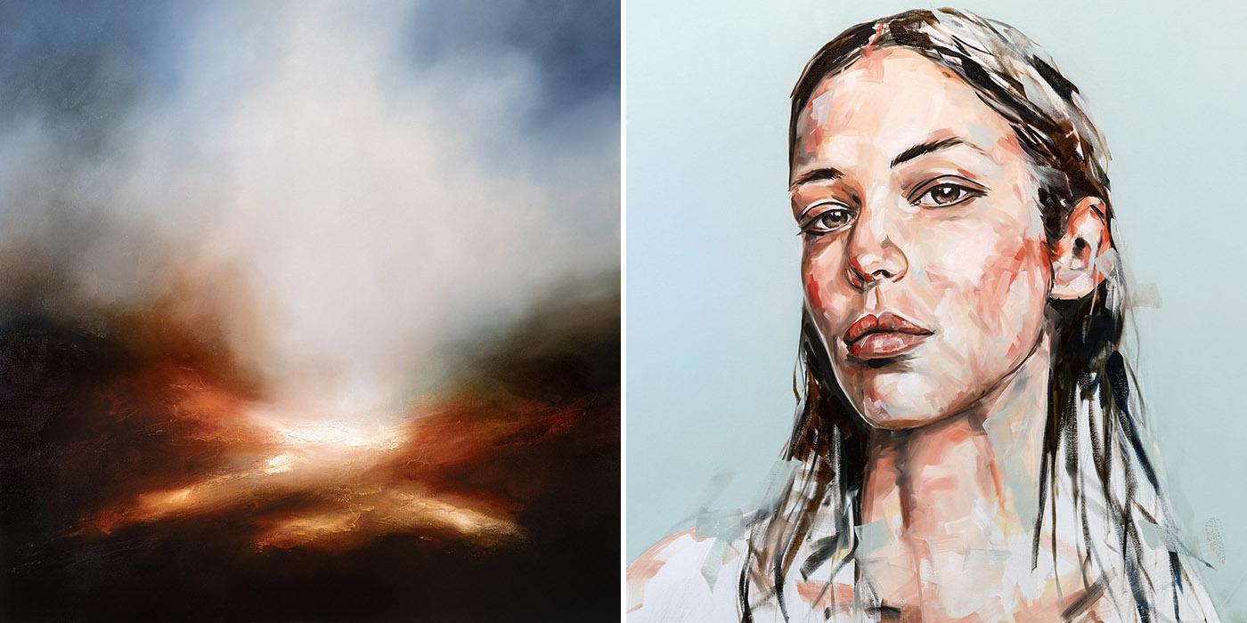 Landscape and Portrait Painting