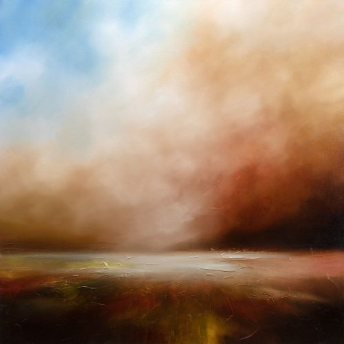 The Abandoned Day Seascape Painting